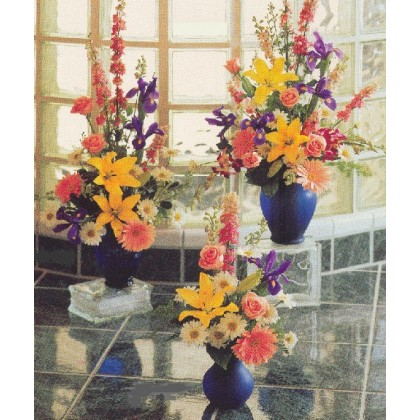 Our Dazzler Cobalt Blue Glass Vase
