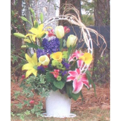 Our Heartstrings Funeral Basket