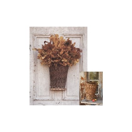 FloraDora # 3 - Willow Picking Basket Door Decor