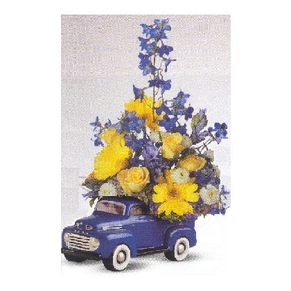 '48 Ford Pickup TALL VERSION Bouquet