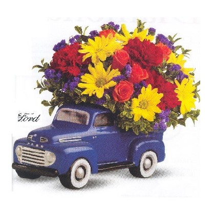 '48 Ford Pickup ROUND-VERSION Bouquet