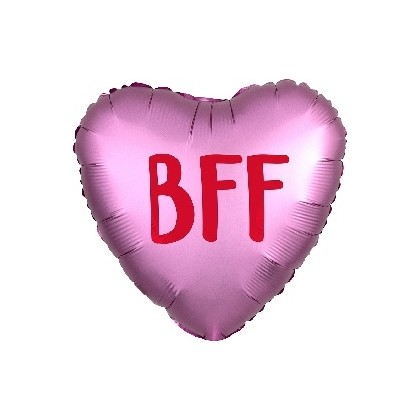 """BFF"" Best Friends Forever Mylar Balloon"