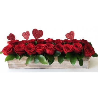 "Our ""Love Charmer"" 18 Rose Bouquet"