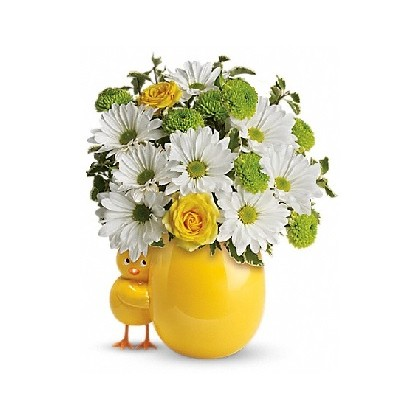 Happy Chick Bouquet by Teleflora