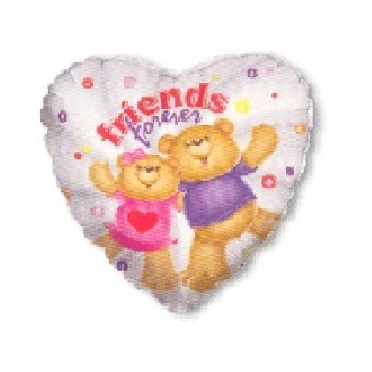 """Friends Forever"" Mylar Balloon"