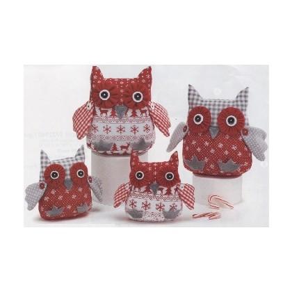 Alpine Fabric Owl Plush