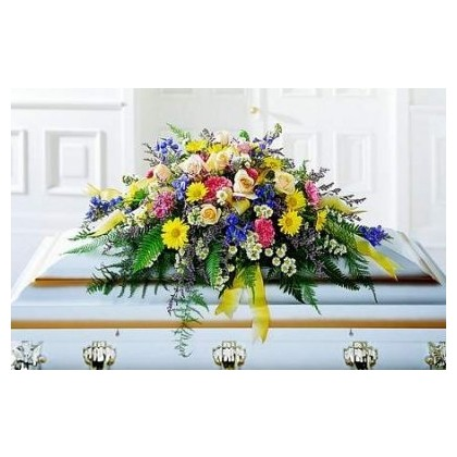 Small Child Casket Cover