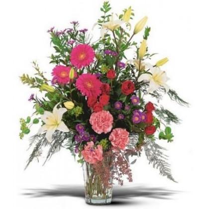 Large Sympathy Vase Arrangement