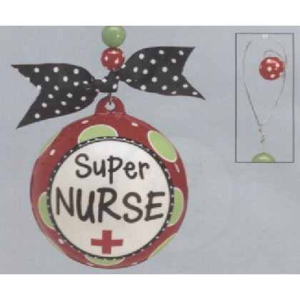 "Hand-painted ""Super Nurse"" Gift"