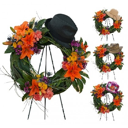 """Our """"In Your Memory"""" Wreath"""