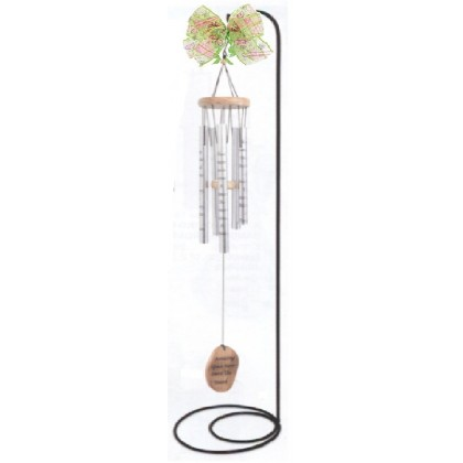 """Memory Becomes Treasure"" Wind Chime Gift"