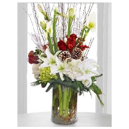 """""""A Big Sky Christmas"""" Bouquet"""